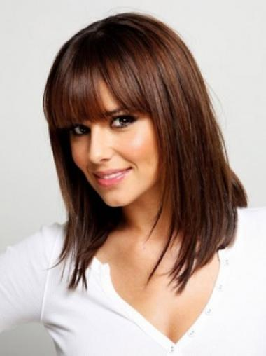 Medium Capless Auburn Great Synthetic Wigs