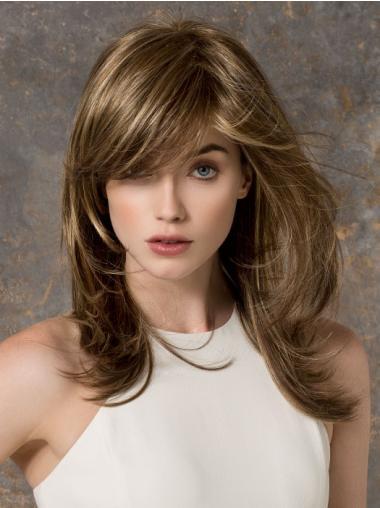 Natural Straight Monofilament Wigs