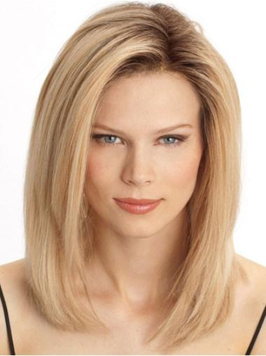 Lace Front Straight Human Hair Wigs